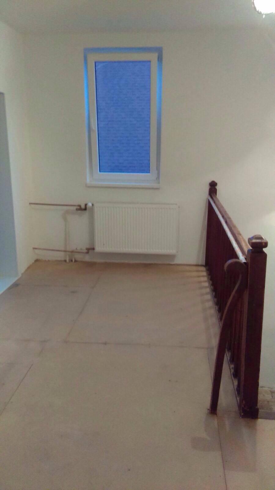 Remont pokoju dla przebierania - podłoga