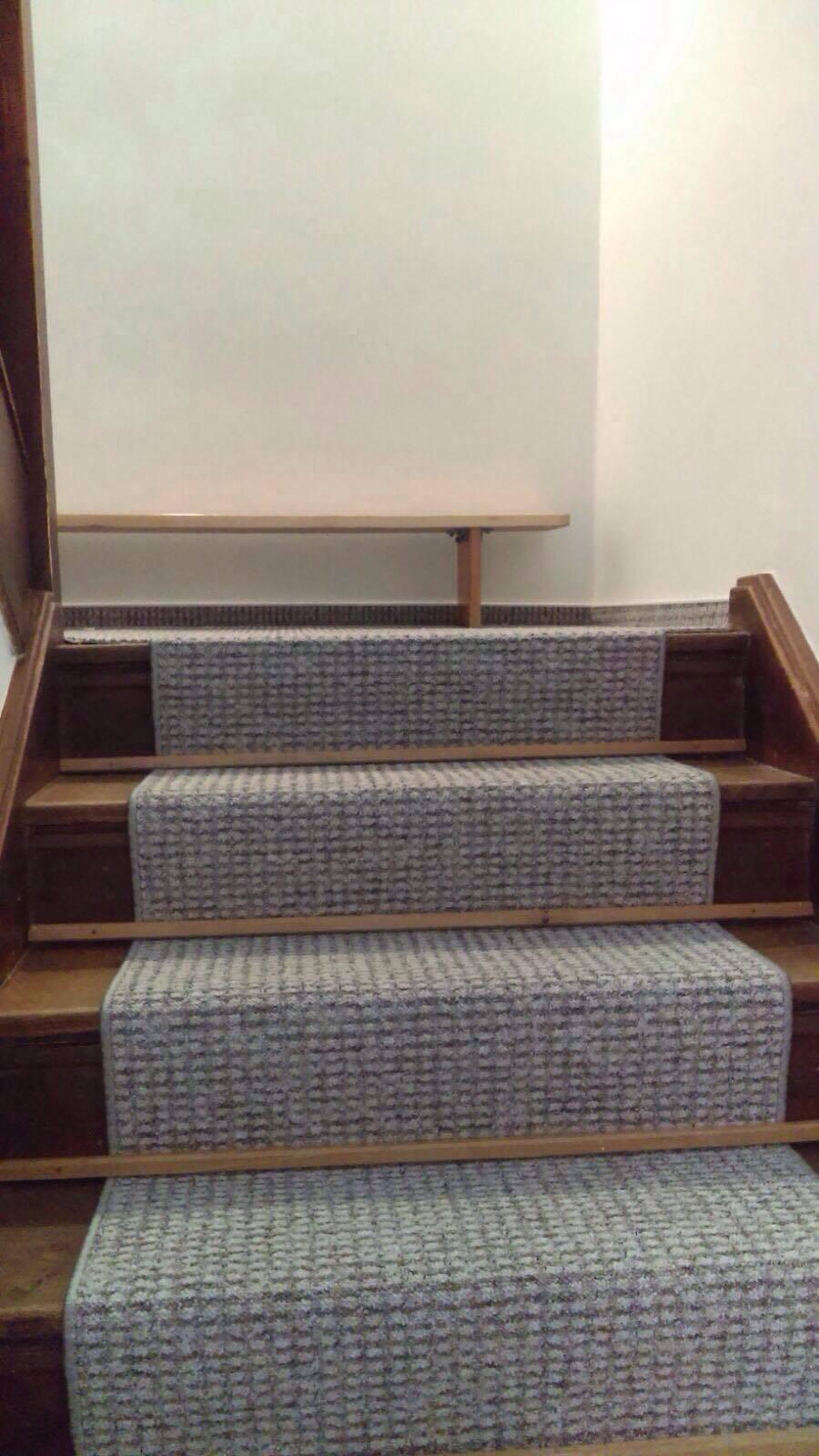 Remont schodów - nowy dywan