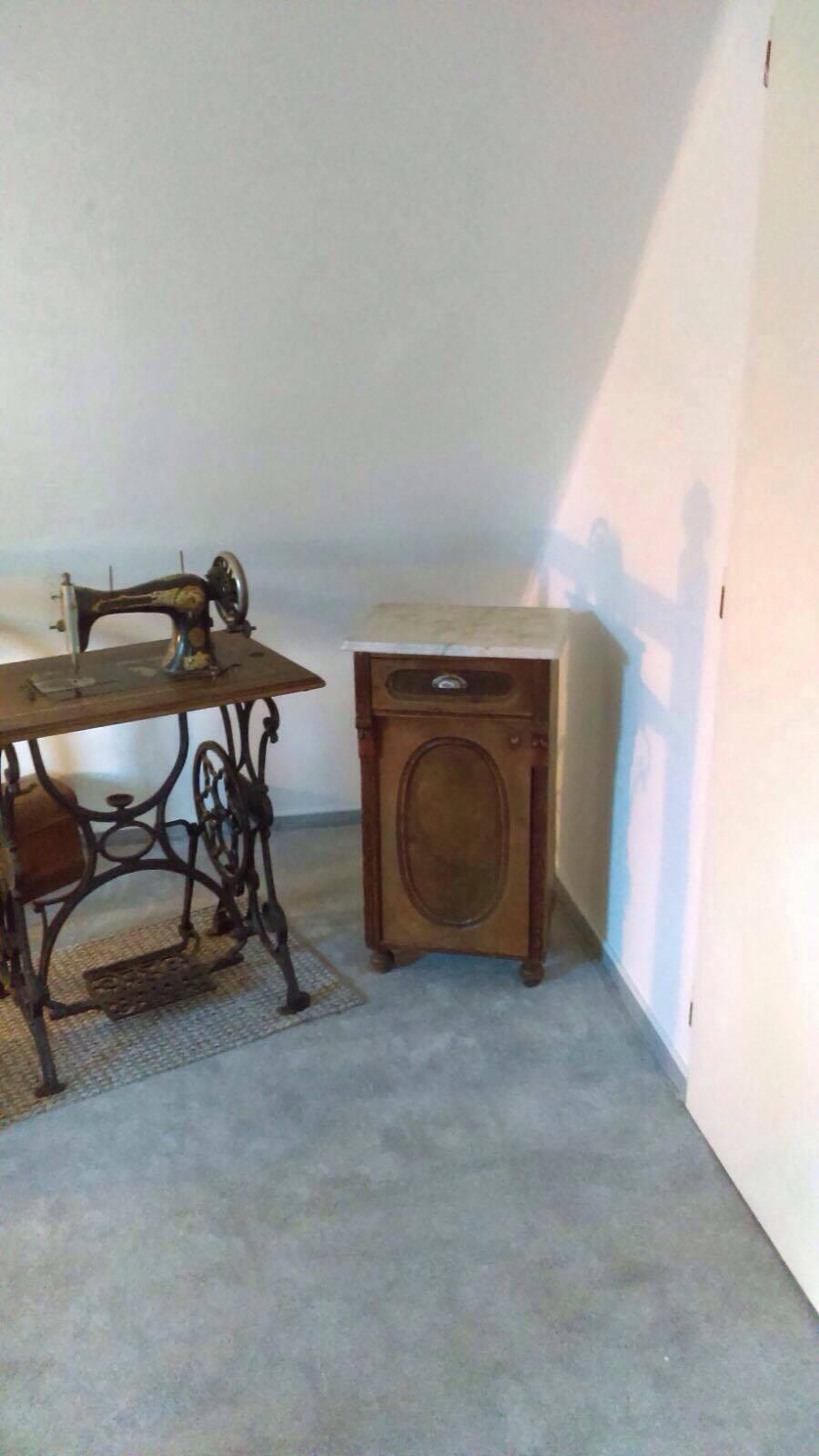 Remont pokoju dla przebierania - kącik historyczny