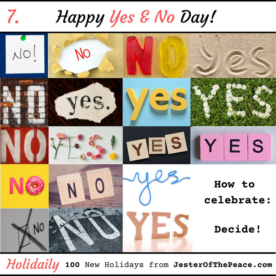 Yes & No Day