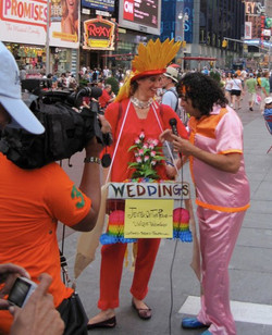 On Lima Limon (Peru TV) in Times Square