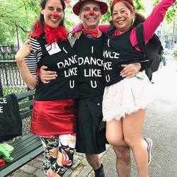 Barbara, Jack, and Mari danced like you in Dance Parade