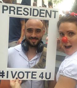 Sam is President of New York City