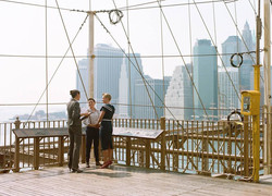 Becki and Bridgette - Brooklyn Bridge View