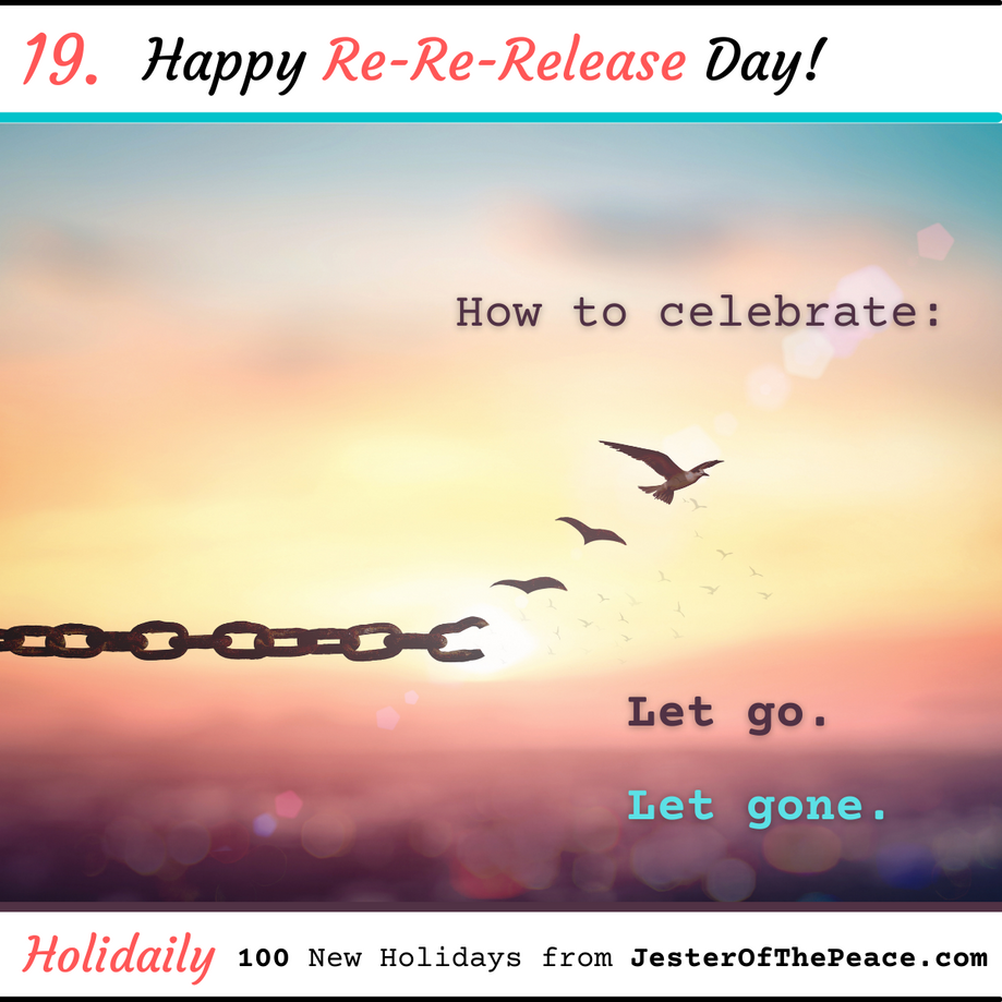 Re-Re-Release Day