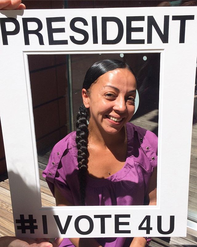 Maria is President of Equal Opportunity for Women - #IVote4U #RippleAffection