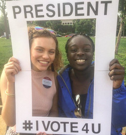 Chandler is President of America and Tabara is President of Gambia, #ivote4u #rippleaffection