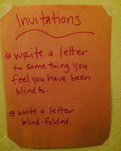 Love Letter Lounge 2017 at the Blindfolded Contact Improv Jam