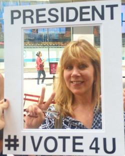 Pam is President of Music Festivals