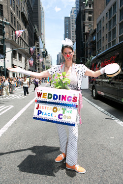 JesterOfThePeace - ChristopherLane photo - Gay Pride 2012 NYC
