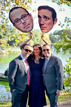 Sean and Ian Married - with Big Heads - Jester of the Peace