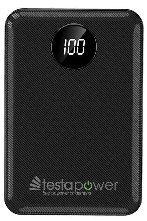 X2 Rapid Powerbank - 5,000mAh, Charged & Ready to Use