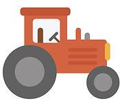 Logo tracteur, circuits courts et produits de saison