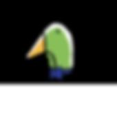 Logo Snoopduck, traiteur au pays basque (avec noeud papillon)