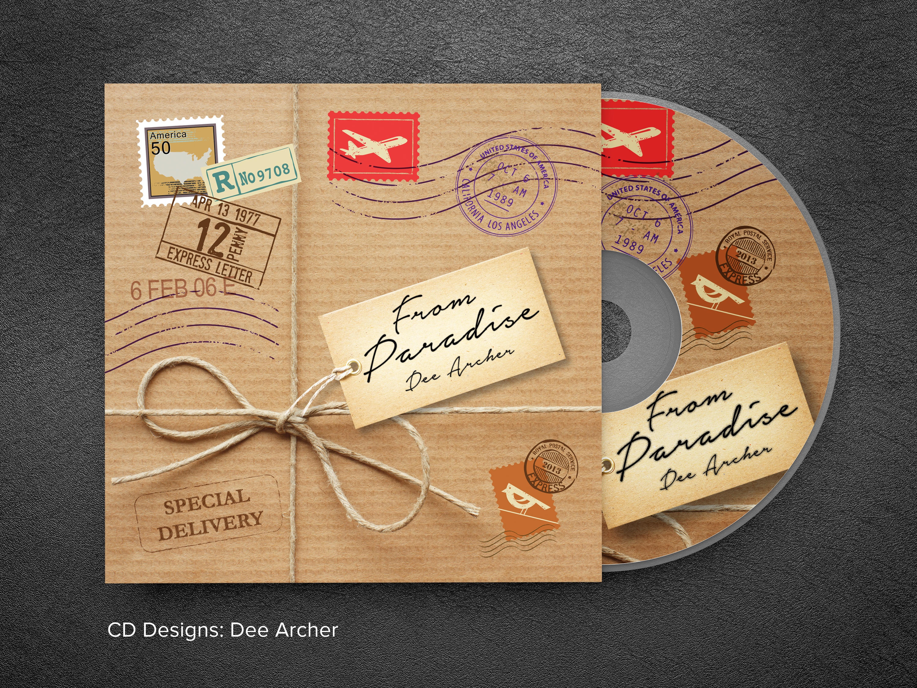 Dee Archer CD jacket
