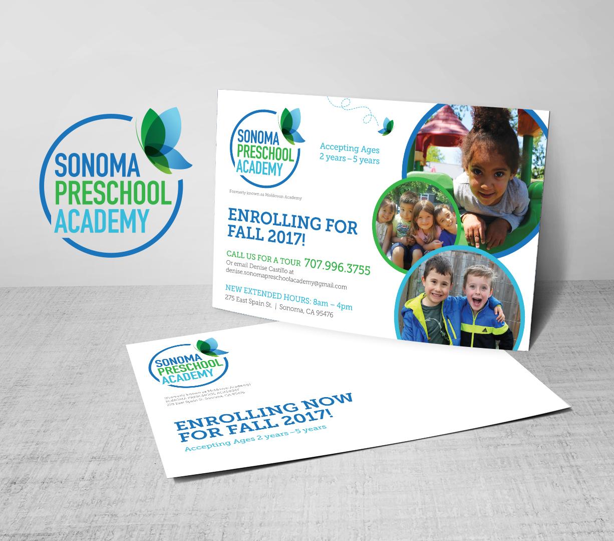 Sonoma Academy postcards