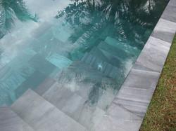 หินปูสระน้ำ Swimming pool stone