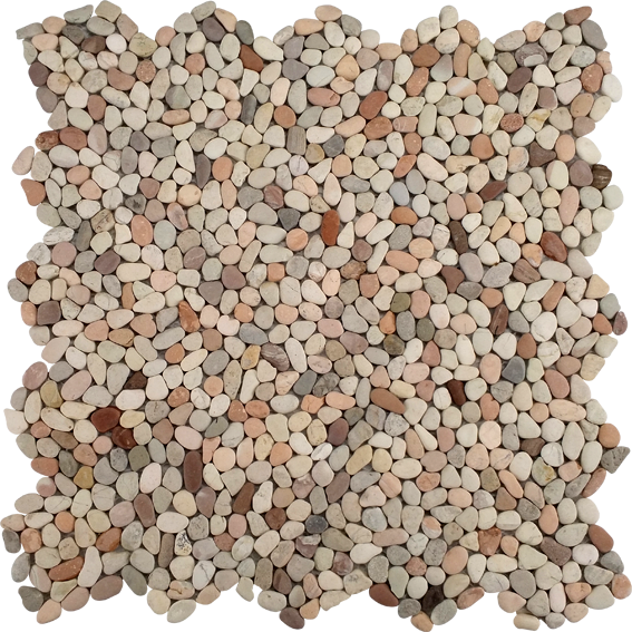MNP-04-โมเสคหินกรวดมัลติคัลเลอร์