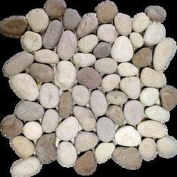 PN-03-โมเสคหินกรวดทูโทนบราวน์