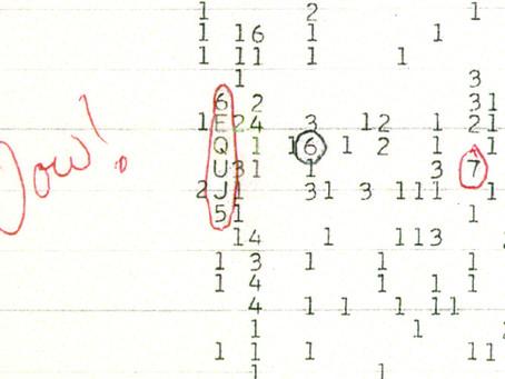 Le Signal Wow ! Nos voisins extraterrestres nous ont-ils contactés ?