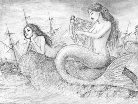 Les sirènes : d'une légende grecque à une créature monstrueuse