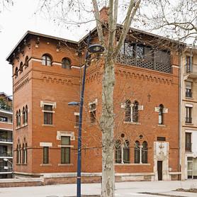 La célèbre demeure hantée de Toulouse.
