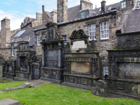 Le cimetière hanté de Greyfriars