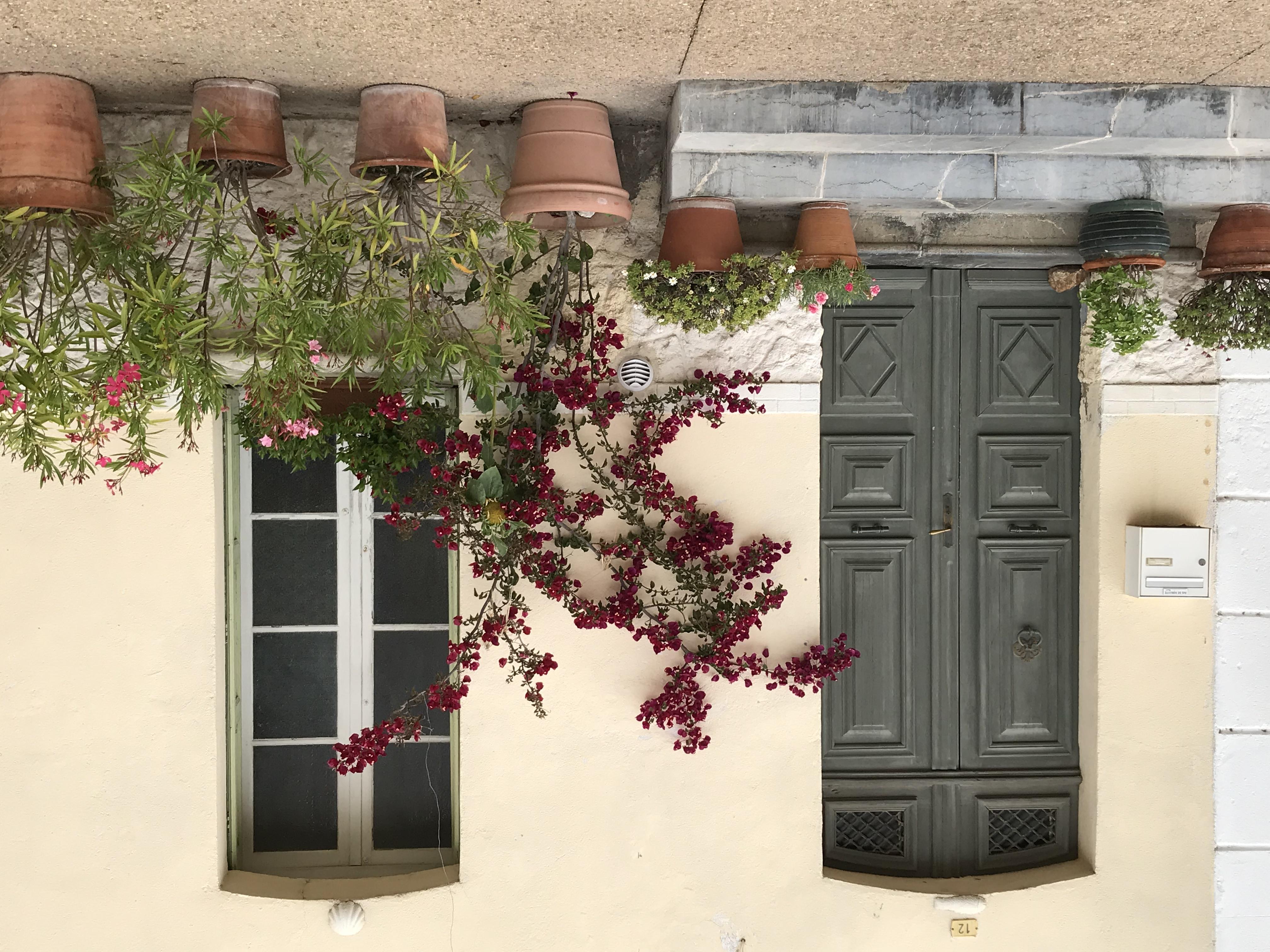Beautiful front doors.