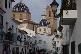 Altea with top of church.jpg