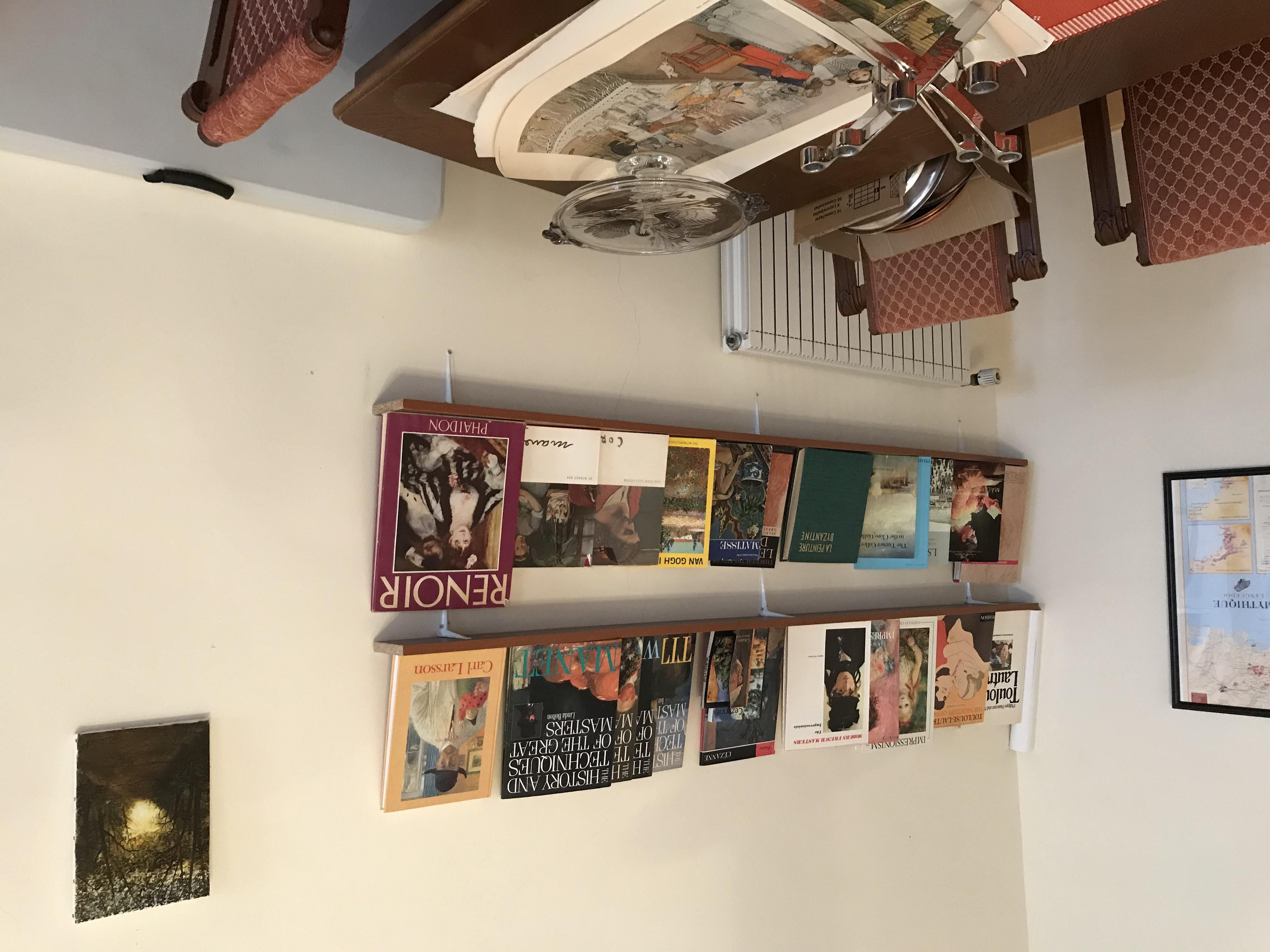 Indoor painting area.