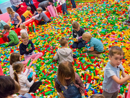2 Millionen Lego®-Steine