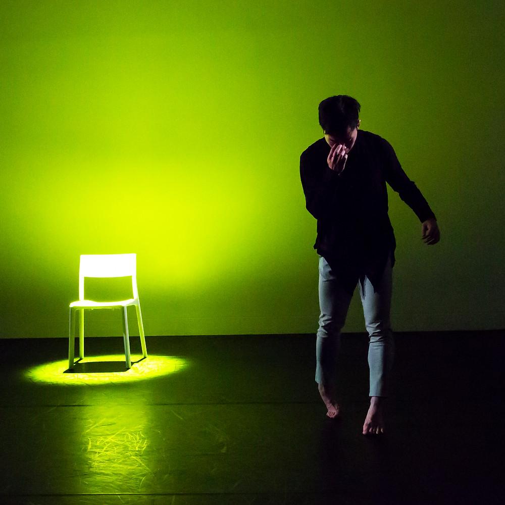 蘇格蘭國家舞蹈中心成立十七年以來,李偉能是首位獲邀演出的香港藝術家。Maria Falconer攝