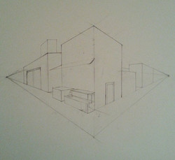 2-Point Perspective Practice