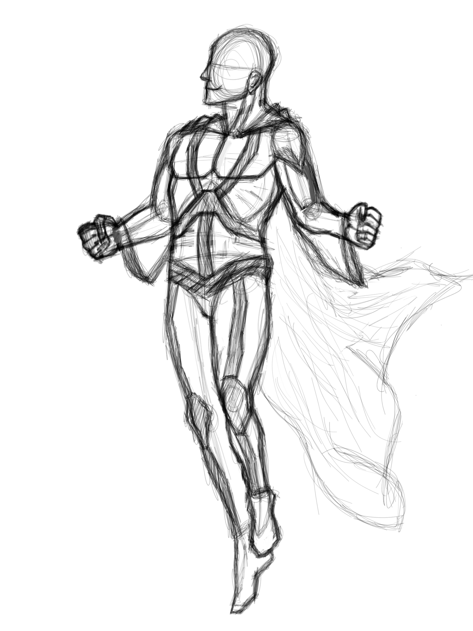 Super Hero Pose