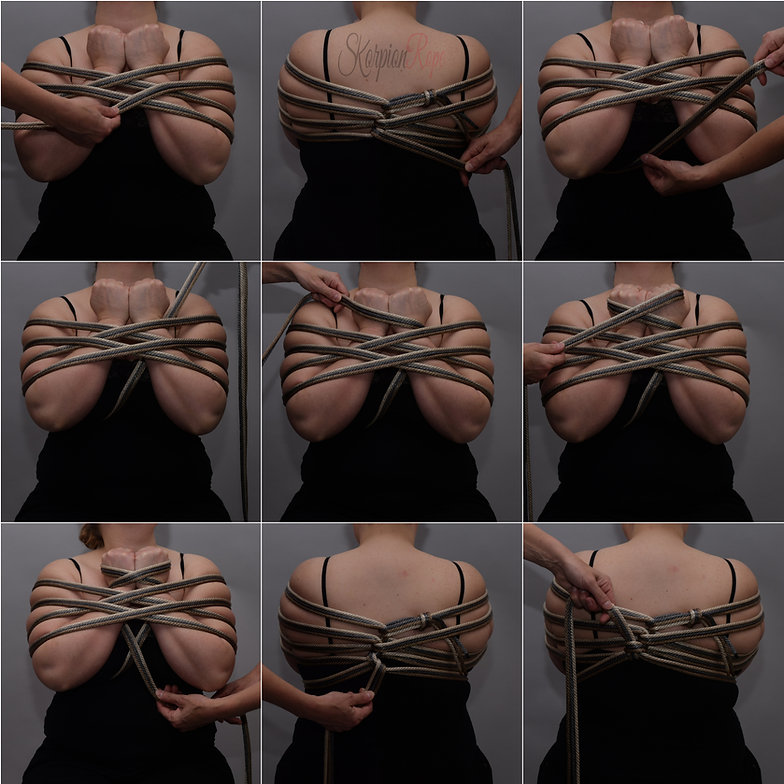 Skorpion Rope XXX Chest Tie Tutorial
