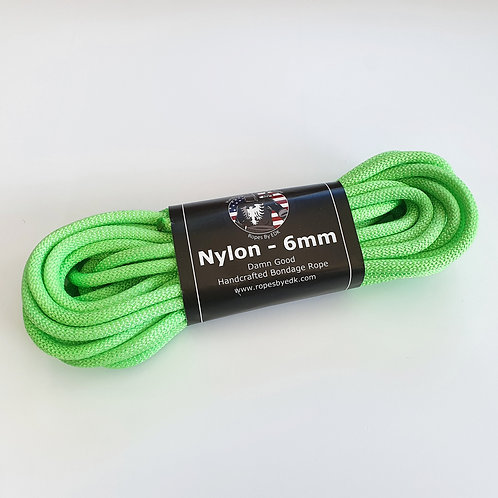 Neon Green Nylon Rope from 'RopesByEDK'