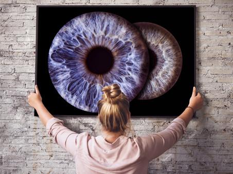 """""""Oh! Iris - Ein Bild vom Fenster zur Seele"""""""