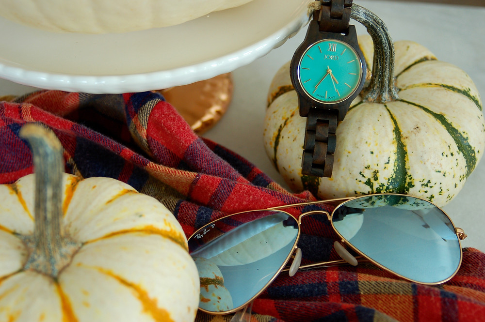 Jord wood watches sandalwood and mint - grace and merriment