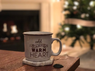 Homemade Hot Chocolate Recipe + Christmas Tablescape