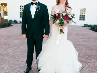 Dayton + Andy's White Sparrow Wedding