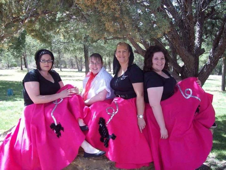 NMSMA girls in pink