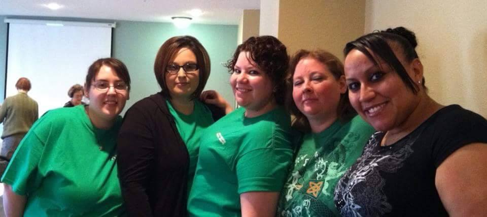 NMSMA girls in green