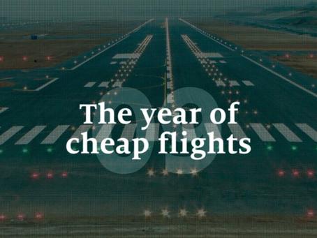 O ano de passagens baratas no mundo, no Brasil não!!