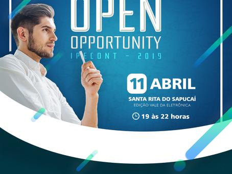 Open Opportunity - IPECONT - Santa Rita do Sapucaí
