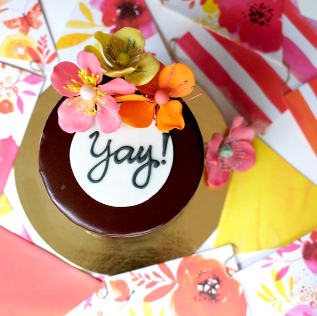 Yay Birthday Cake