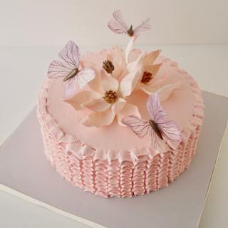 Flutter Birthday Cake