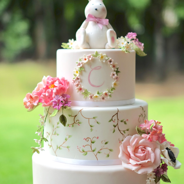 Garden Bunny Cake