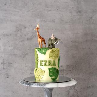 Party Animal Birthday Cake