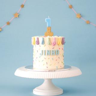 Tassel Birthday Cake