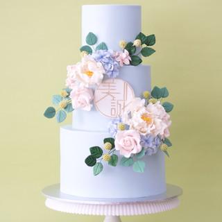 Carmen Wedding Cake